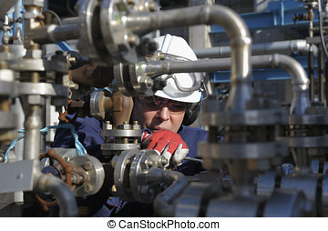 engineers and pipeline machinery - engineer, mechanic,...