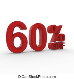 3d High resolution image percent off