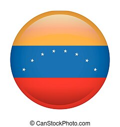 Isolated Venezuelan flag - Isolated flag of Venezuela on a...