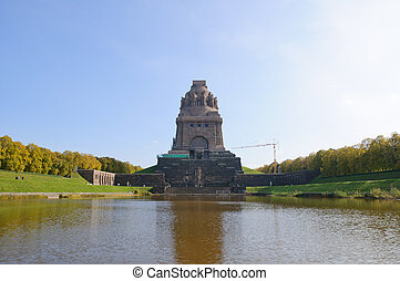 Leipzig, Germany - Monument to the Battle of the Nations in...