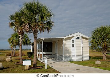 mobile home at camping resort St. Augustine Florida for sale