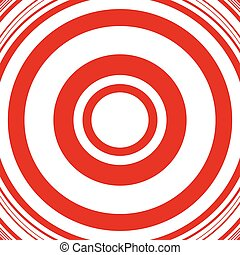 Concentric circles abstract circular pattern. Geometric...