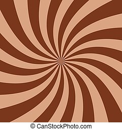 chocolate paste - Abstract striped chocolate paste...