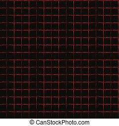 Repeatable grid, mesh pattern. Geometric reticular, cellular...