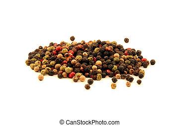 Peppercorns in a Pile