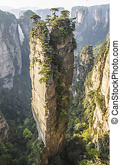 Avatar Hallelujah mountain in the Wulingyuan national park,...
