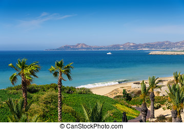 Coastline of Cabo San Lucas - Beach and coastline of Cabo...