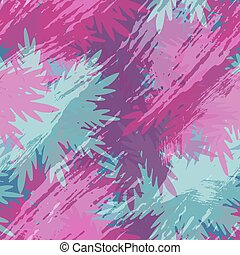 Tropical summer leaf palm tree floral pattern art