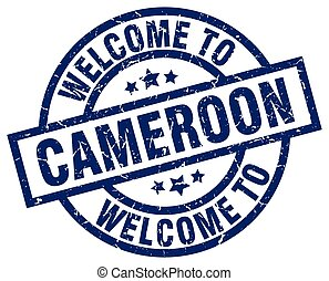 welcome to Cameroon blue stamp