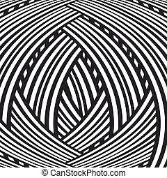 Abstract background. Black and white pattern.