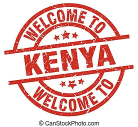 welcome to Kenya red stamp