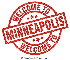 welcome to Minneapolis red stamp