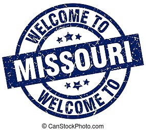welcome to Missouri blue stamp