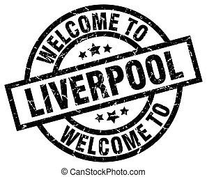 welcome to Liverpool black stamp