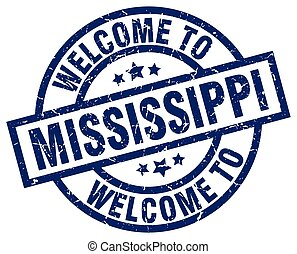 welcome to Mississippi blue stamp