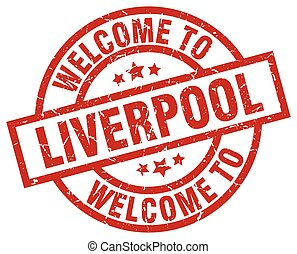 welcome to Liverpool red stamp