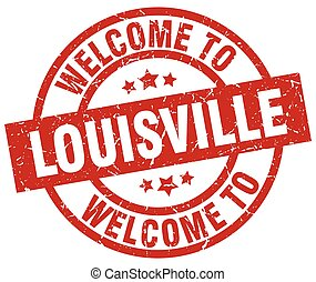 welcome to Louisville red stamp