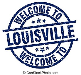 welcome to Louisville blue stamp