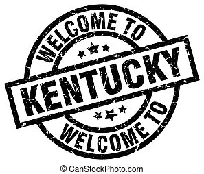 welcome to Kentucky black stamp
