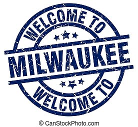 welcome to Milwaukee blue stamp