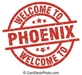 welcome to Phoenix red stamp