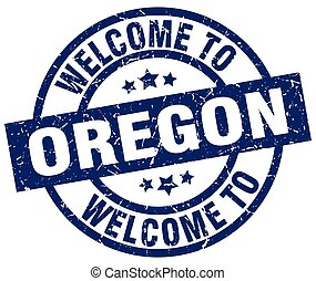 welcome to Oregon blue stamp