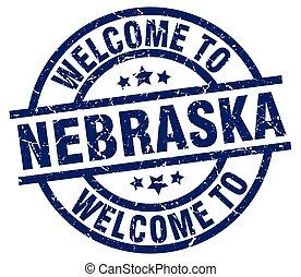 welcome to Nebraska blue stamp