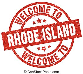 welcome to Rhode Island red stamp