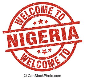 welcome to Nigeria red stamp