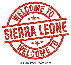 welcome to Sierra Leone red stamp