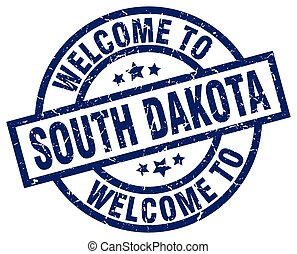 welcome to South Dakota blue stamp