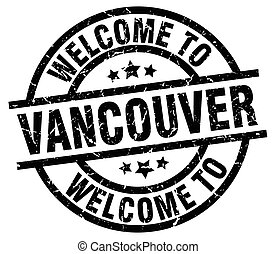 welcome to Vancouver black stamp