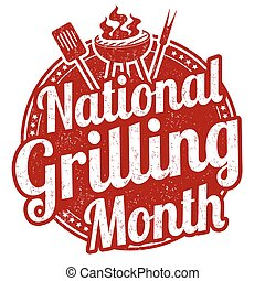 National grilling month stamp