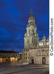Santiago de Compostela Cathedral - Galicia - Spain -...