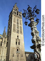 The Giralda - Seville Cathedral - Seville - Spain - The...
