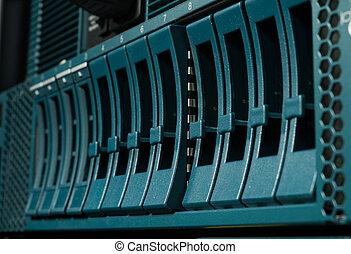Disk storage in data center