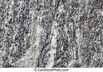 Rock the Granite in a rock quarry