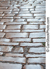 Old town stone paving pattern pavement - Old town stone...