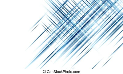 Digital futuristic blue tech abstract motion background with...