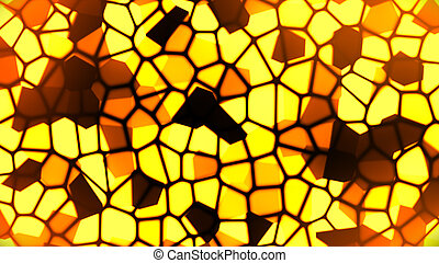 Stained Glass 4 - Abstract Theme Background