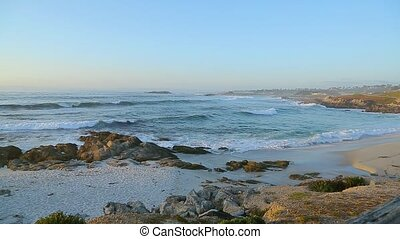 Monterey 17 Mile Drive - Spanish Bay Beach in Pacific Grove....