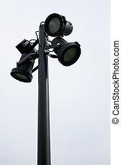 halogen street lights