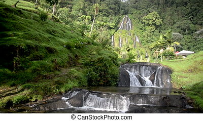 Thermal Springs Waterfall in Santa Rosa de Cabal - Waterfall...