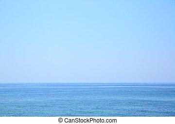 Mediterranean Sea seascape - Mediterranean Sea - beautiful...
