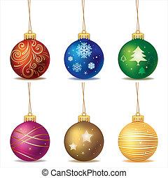 christmas ball - vector christmas ball