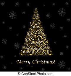 摘要, 樹, 聖誕節