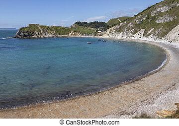 Lulworth Cove - Dorset - England - Lulworth Cove near West...
