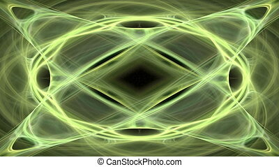 Abstract motion background, energy waves and lightning, seamless loop able.