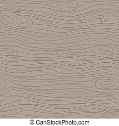 Wood taupe texture vector seamless pattern. Pale wooden bark...