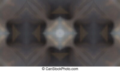 Colorful looping kaleidoscope sequence. Abstract motion...